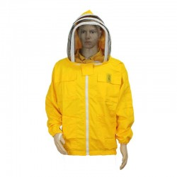 YELLOW OVAL MASK SHIRT