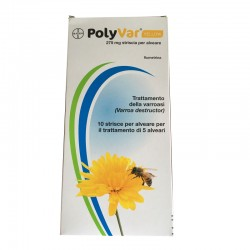 POLYVAR YELLOW 275mg BAYER 10 STRISCE ANTIVARROA