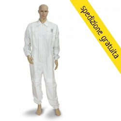 WHITE TRACKSUIT WITHOUT MASK