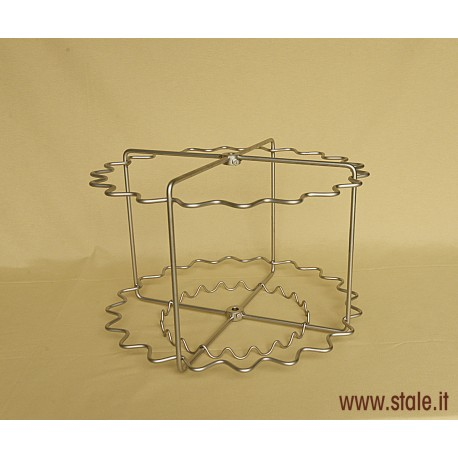 STAINLESS STEEL CAGE TOUCAN DM. 630