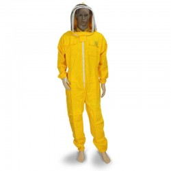 SUIT WITH OVAL MASK YELLOW