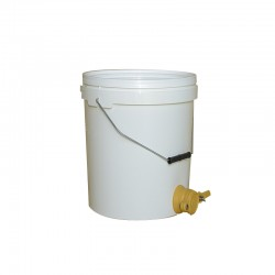 BUCKET WITH CUT-OFF TAP