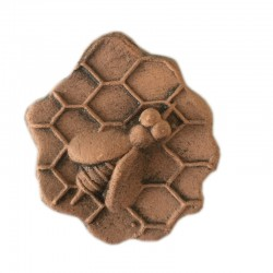 HANDCRAFTED TERRACOTTA SEAL IN THE SHAPE OF A HONEYCOMB
